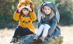 "Kids will love reaching into their wardrobe to unleash a ""Frolicsome Fawn"", a ""Fantastic Little Fox,"" a ""Spotted Leopard"" or a ""Wild Grey Wolf."""