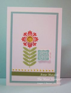 March 2013 RemARKable Stampers Stamp of the Month: Ciao, Baby! by mauistamper: Madison Avenue, Pretty Petites 2nd Birthday, Birthday Cards, Baby Samples, Scrapbook Cards, Scrapbooking, Madison Avenue, Happy Day, Homemade Cards, Stampin Up Cards
