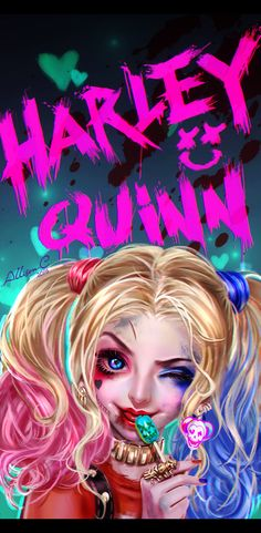 Suicide Squad Harley Quinn Cosplay Costume and Accessories Harley Quinn Tattoo, Harley Quinn Drawing, Harley Quinn Comic, Disney Drawings, Cute Drawings, Harley Quenn, Daddys Lil Monster, Cute Disney Wallpaper, Digital Art Girl