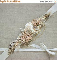 Hey, I found this really awesome Etsy listing at https://www.etsy.com/listing/198544053/bridal-sash-burlap-rustic-gold-blush