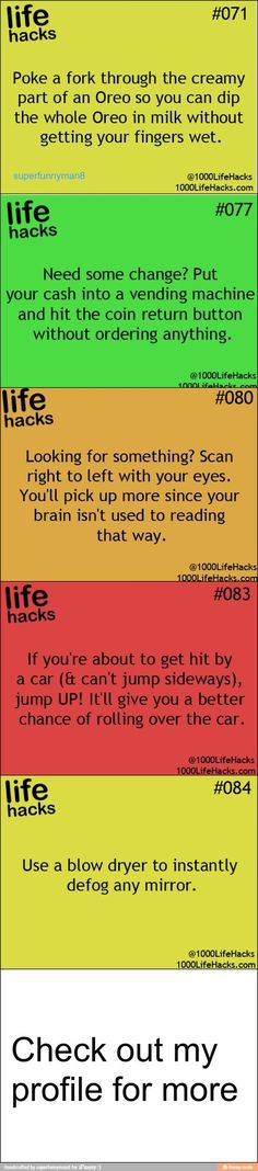 Everything Hacks, Tips, & Tricks: Life hacks / iFunny :) Nemo Sea I Need To Know, The More You Know, Look At You, Things To Know, Hack My Life, Simple Life Hacks, Useful Life Hacks, 1000 Lifehacks, Making Life Easier