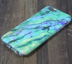 Marble Turquoise Green Stone Tough Protective iPhone 6s Case iPhone 6 plus Case 3D 194