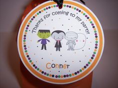 Halloween Favor Tags  Halloween Tags  Halloween Tag  by kidEprints, $5.99