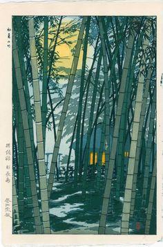 Shiro Kasamatsu: Bamboo Grove in Early Summer : Lot 0065