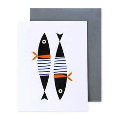 Sailor Fish Card
