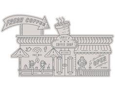 ABSA Cityscape by Daniel Ting Chong, via Behance