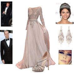 William, Harry, and Elizabeth Formal Photos for Charles, created by royal-fashion on Polyvore