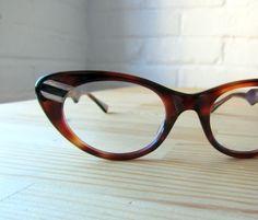 vintage cat glasses