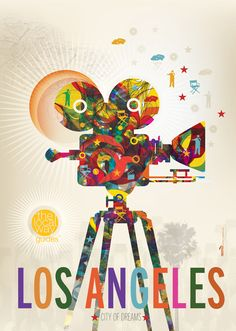 Freestylee Los Angeles Poster