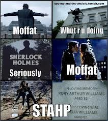 Moffat has a talent for making me cry