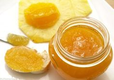 Mermelada de piña y naranja Jam Recipes, Sweet Recipes, Heritage Recipe, Mexican Food Recipes, Healthy Recipes, Pineapple Recipes, Good Food, Yummy Food, Jam And Jelly
