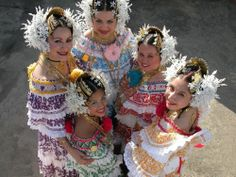 Panama,Pollera people