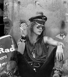 Axl Rose, Los Angeles, 1990