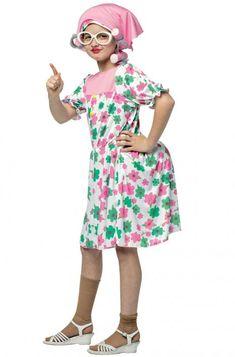Granny Child Costume