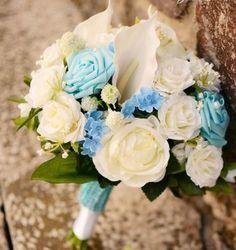 kytica, wedding flowers, rose, blue Wedding Flowers, Floral Wreath, Wreaths, Rose, Decor, Floral Crown, Pink, Decoration, Door Wreaths