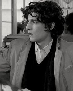 "Louis Garrel as Nemours in ""La Belle Personne"". #garrel"