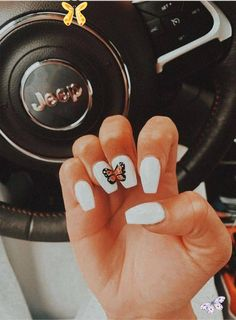 | pretty acrylic nails for prom #nails #nailgoals #acrylics #acrylicnails #butte<br> Simple Acrylic Nails, Best Acrylic Nails, Simple Nails, Toenail Art Designs, Acrylic Nail Designs, Nail Swag, Nagellack Design, Aycrlic Nails, Coffin Nails