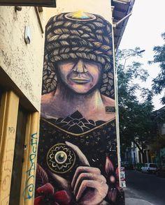 The Chaman... follow us @arty.city #streetstyle #streetart #arteurbano #arte #barrioyungay
