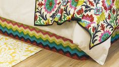 Sew This Bedroom by Hobby Lobby - bedskirt, headboard, pillows, etc.