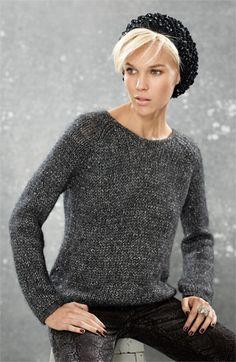 sweater + beret...my uniform.