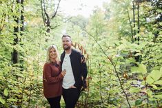 Our backyard in Mississippi Mills, ON is the perfect woodland for a romantic session Fall Engagement, Engagement Session, Engagement Photos, Ottawa Valley, Early Autumn, So Much Love, Mississippi, Photo Sessions, Woodland