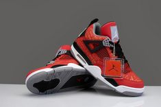 new style 9d149 5f4f9 Cheap Air Jordan IV Red Laser Bull Discount Sale Air Jordan Iv, Air Jordan  Shoes