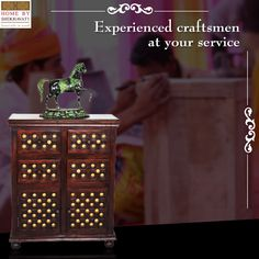 Hello people!  Make your abode breathtakingly beautiful with solid wood that is handcrafted with quality.  At Home By Shekhavati, Sheesham Wood is one of the solid wood that is used to make furniture because of its durable nature and longevity.  To buy handcrafted solid wood furniture visit : www.homebyshekhavati.com