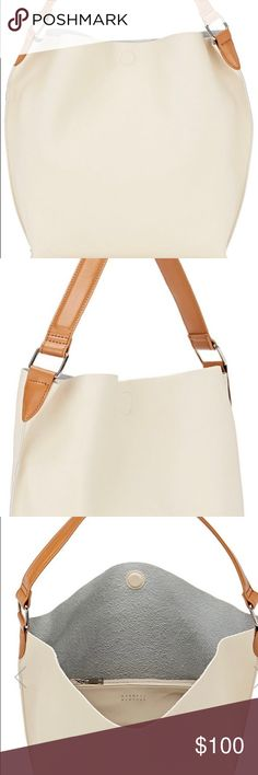 NWT BARNEYS NEW YORK Ann Hobo Bag in Ivory Bone NWT BARNEYS NEW YORK Gorgeous Ann Hobo Bag. Beautiful for every occasion and daily use. Fits a little or a lot; whatever you prefer! Barneys New York Bags Hobos