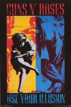 Guns N' Roses Use Your Illusion Poster 22x34 – BananaRoad