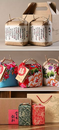 Design packaging bag diy gifts 40 New Ideas Rice Packaging, Pretty Packaging, Brand Packaging, Design Packaging, Bottle Packaging, Japanese Packaging, Japanese Design, Japanese Style, Packaging Design Inspiration