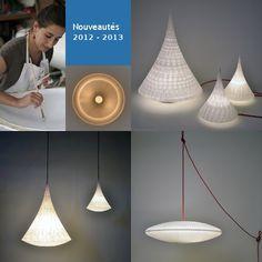 Céline Wright : des lampes poèmes!