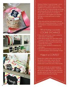 cookie exchange party: great tips and ideas {The Party Dress Magazine - Holiday 2012}