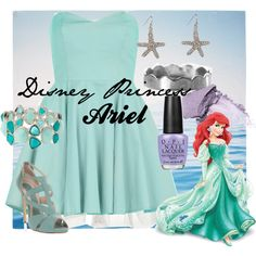 Disney Princess Ariel by amarie104 on Polyvore
