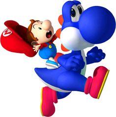 Baby Mario on Yoshi Super Mario Art, Super Mario World, Mario Bros., Mario Party, Yoshi Drawing, Kawaii Games, Super Mario Birthday, Super Mario Brothers, Art For Kids