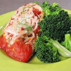 Classic chicken parm is deep-fried and smothered in cheese — a restaurant portion can top 1,000 calories and 50 grams of fat! My slimmed-down version allows you to enjoy this Italian favorite without delivering a blow to your arteries and waistline.