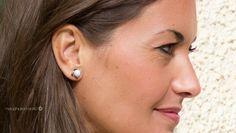 Pendientes joya; engarzado de circonita, piedras semipreciosas en complemtos Isabella Collection. isabella.es