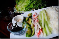 Easy Homemade Sushi Wrap