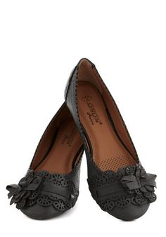 Fancy flats in charcoal #flatsforfall