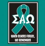 Sigma Alpha Omega, when others forget, we will remember...
