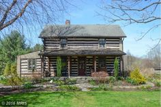 8 Timothys Green Ct, Baltimore, MD 21208. Asking Price: $875,000. An extremely rare opportunity to own one of Baltimore's historic icons - The Strontia Log House c. 1860 was the original caretakers house to the then 101 ac. Strontia Estate. Extensive log and chinking renovation in 2015 - Numerous updates and preservation of historic charm - Surrounded by horse pasture, protected woodlands, 20 minutes to downtown & close proximity to private and public schools.