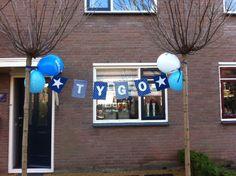 Geboorteslinger van stof www.dekleineauto.nl