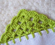 Crochet Edging Tutorial, Crochet Edging Patterns, Crochet Borders, Crochet Designs, Irish Crochet, Crochet Baby, Pine Cone Crafts, Crochet Basics, Knitting Stitches