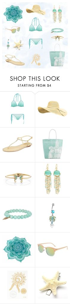 """On the beach"" Women outfit set by @savousepate on Polyvore"