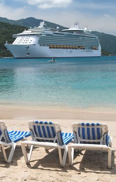 Voyager of the Seas in the Caribbean