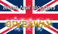 British Nail Bloggers First Giveaway open until 28.6.13