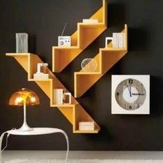 estanteria minimalista x3 mdf 15mms living - comedor
