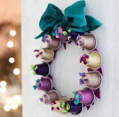 ideas for using Nespresso capsules for craft projects.