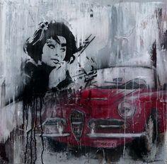 Giraudeau, Alfa Romeo