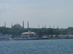 Estambul. Crucero por el Bósforo. Sultanahmed.