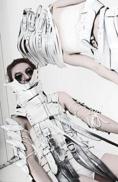 Design team: Kata Horvath, Piroska Gyetvai, Monika Metal, Ildiko Mikula and Edit Urban.    Recycled leather collection: